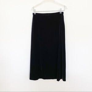 Girls GAP Velvet Long Skirt